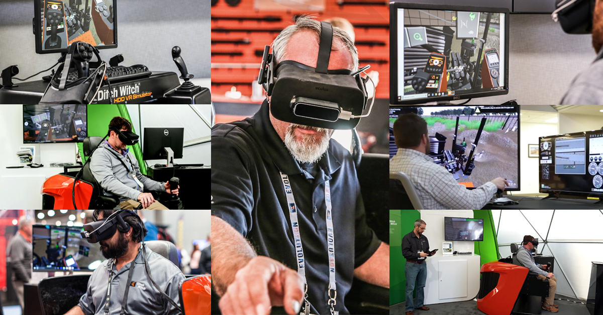 Ditch Witch Introduces Industry-First HDD Virtual Reality Simulator.